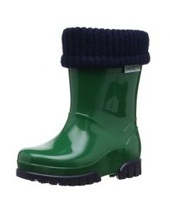 Toughees Term Lined Wellingtons Green