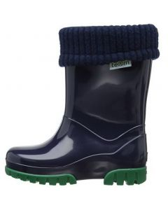 Toughees Term Lined Wellingtons Navy