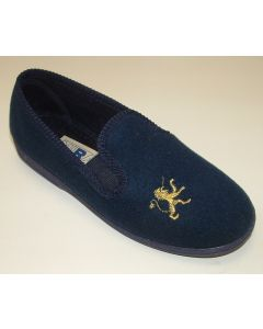 Mirak Warminster Blue Slippers